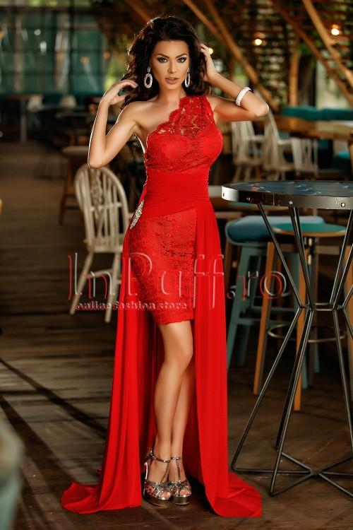 rochie-de-seara-rosie-scurta-pe-un-umar-din-dantela-cu-trena-din-tul-1496944981-4