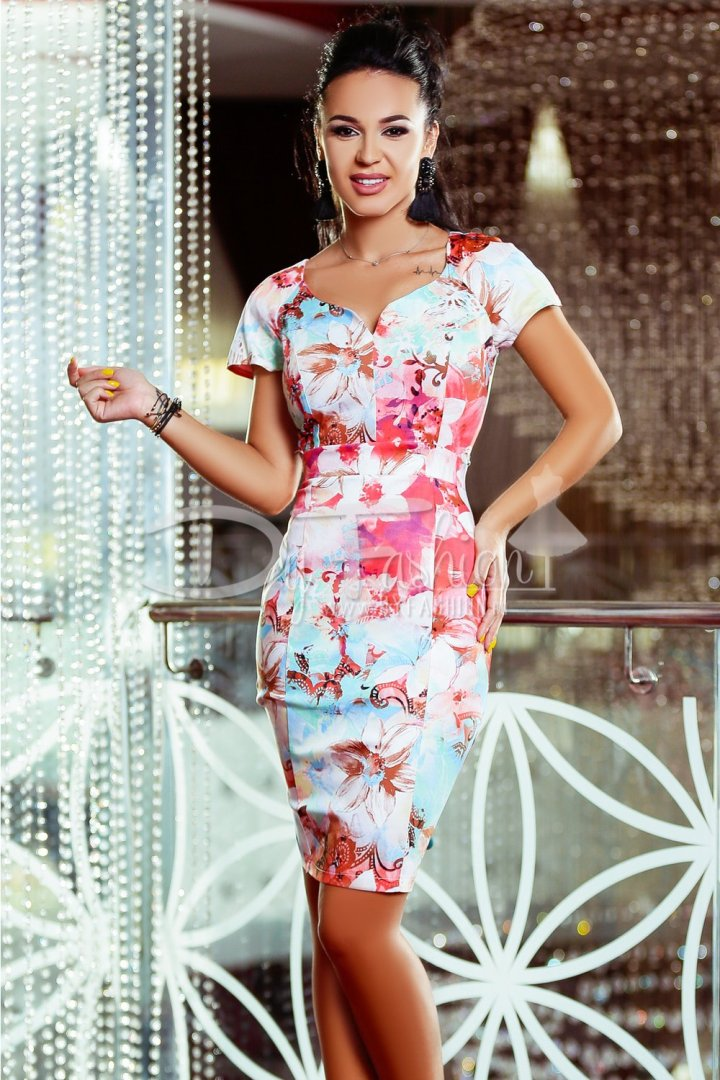 rochie-loving-albastra-cu-flori-roz-23628-4