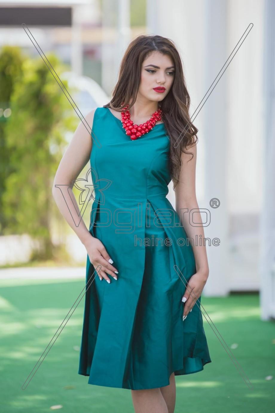 rochie-trei-sferturi-verde-smarald-1498217750-4