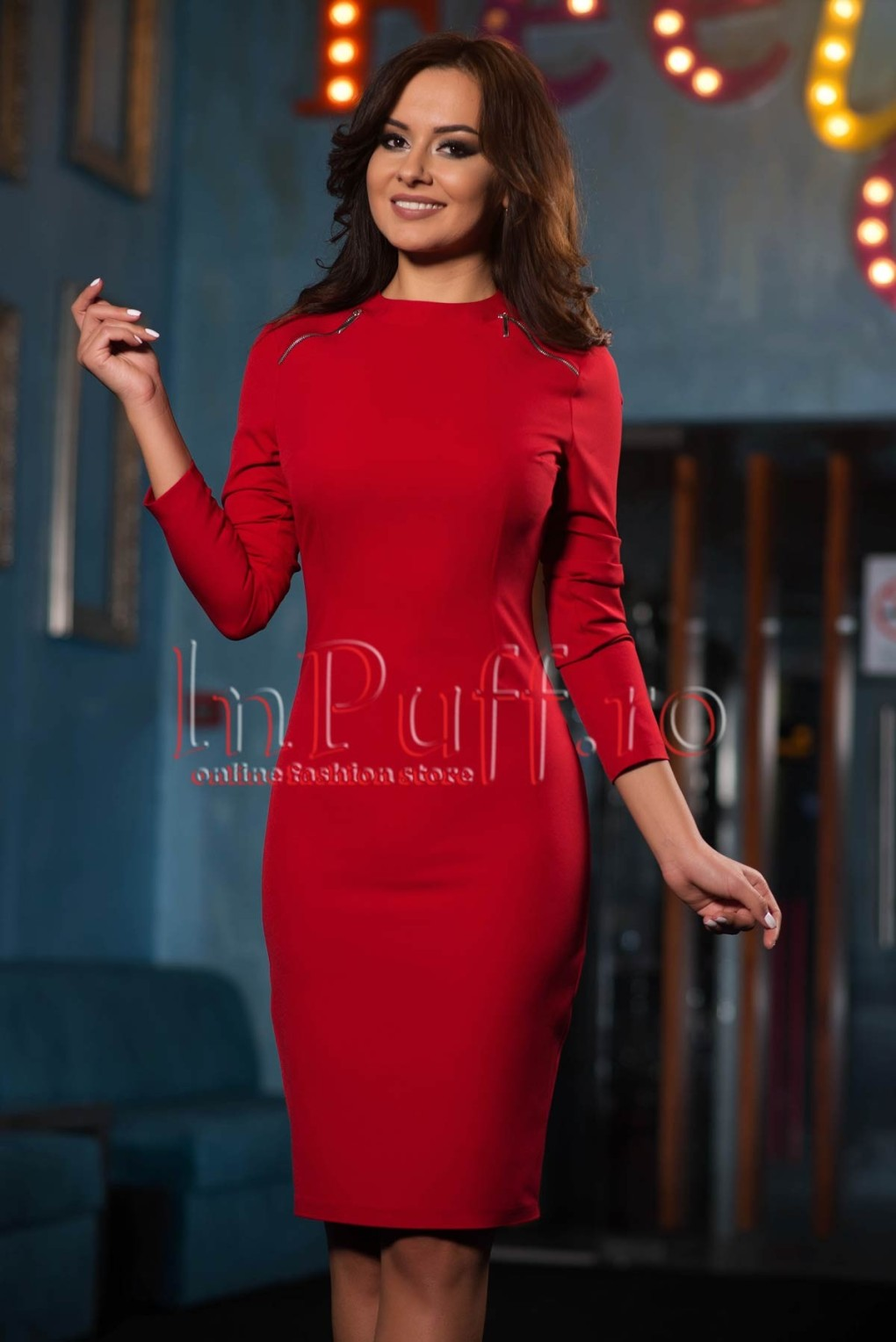 rochie-eleganta-rosie-cu-fermoare-argintii-1507625803-4
