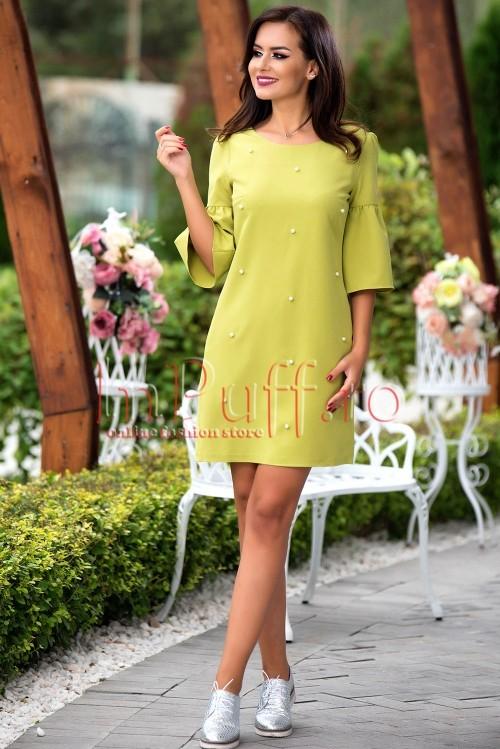 rochie-eleganta-verde-lime-cu-perle-1504625539-4