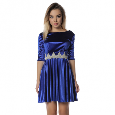 rochie-clos-din-catifea-albastru-divine