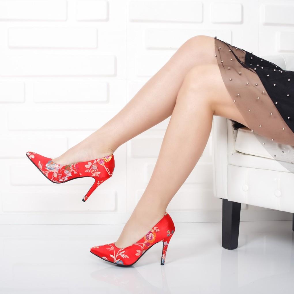 pantofi-dama-hossi-rosii-cu-imprimeu-floral
