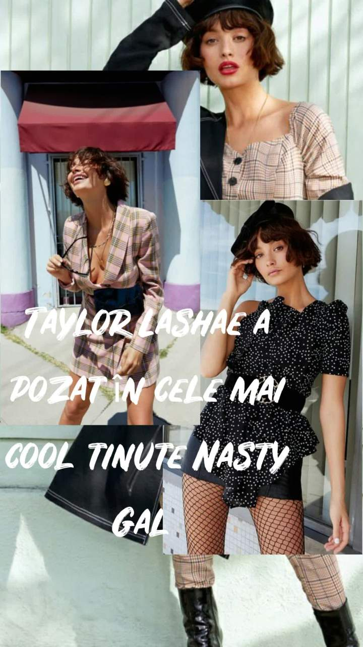 Taylor Lashae a pozat in cele mai cool tinute NastyGal