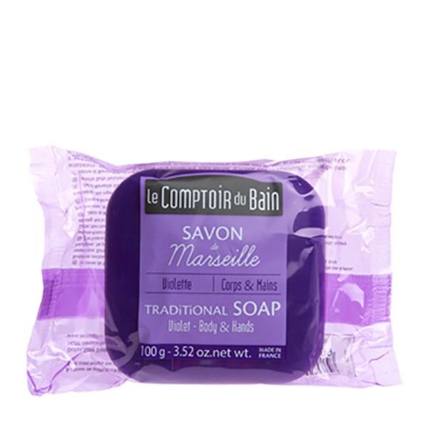 Le-Comptoir-du-Bain-Săpun-de-Marsilia-Violete-100g-